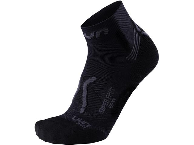 UYN Run Super Fast Socks Herren black/anthracite